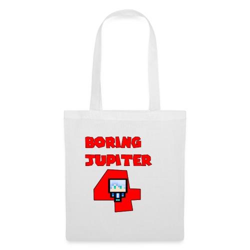 Maglietta premium text BoringJupiter4 - Borsa di stoffa