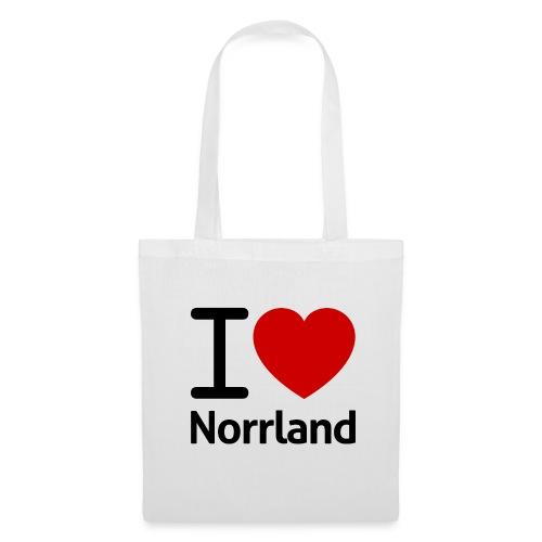 Jag Älskar Norrland (I Love Norrland) - Tygväska