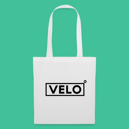 Velo Icon Blk - Long Sleeve Baseball Shirt W/N Clr - Tote Bag