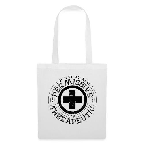 I'm Not Permissive (White) - Tote Bag