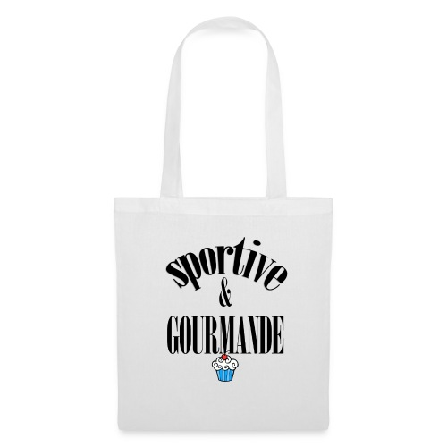 Fitness et gourmande - Tote Bag