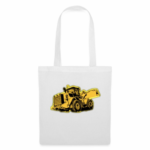 Wheel Loader - Tote Bag