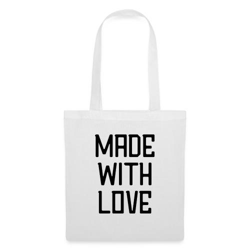 Made with love - Tas van stof