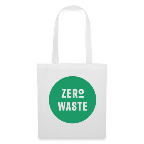 ZERO WASTE - Green - Tote Bag