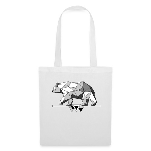Shaded Bear - Tote Bag