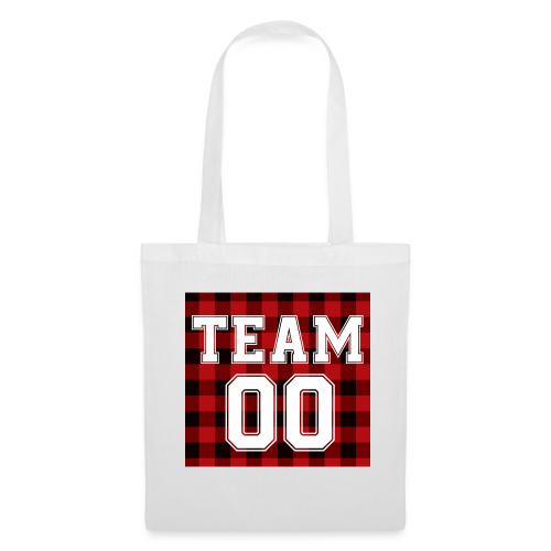 TEAM 00 T-shirt White - Tas van stof
