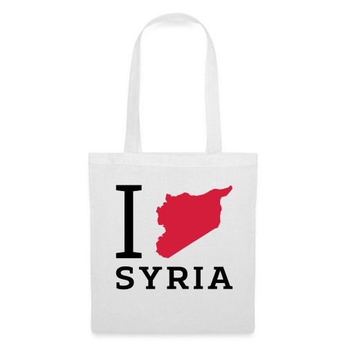 I love Syria - Tas van stof