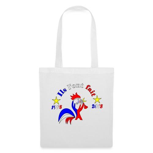 champion du monde 2018 France coq 2 étoiles - Tote Bag