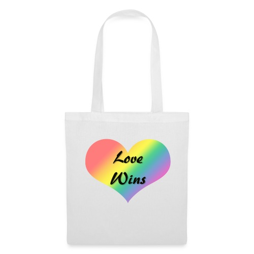 Love Wins - Tote Bag