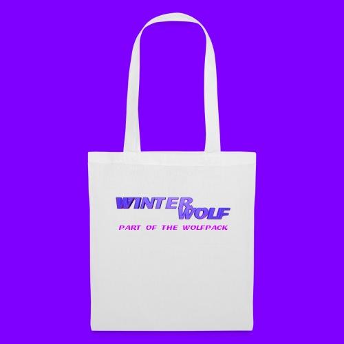 WINTERWOLF LOGO Part of The Wolfpack T-shirt - Tas van stof
