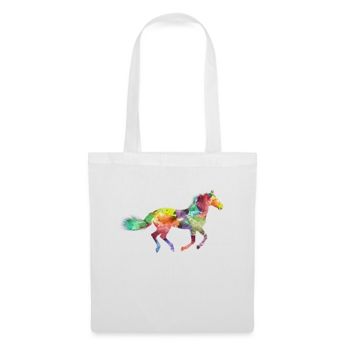 Cheval multicolore - Tote Bag