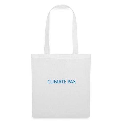 climate pax blue - Stoffbeutel