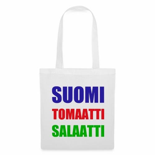 SUOMI SALAATTI tomater - Stoffveske