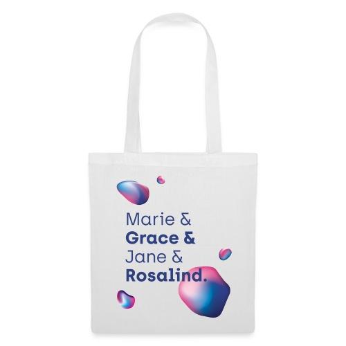 Lange Nacht 2018 Marie Grace Jane Rosalind - Stoffbeutel