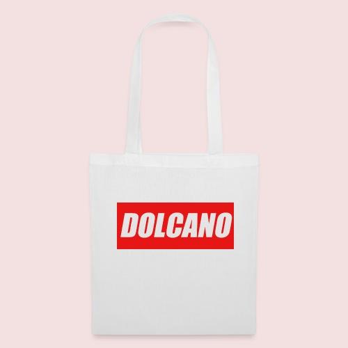 DOLCANO Box Logo Short Sleeved T-Shirt. - Tote Bag