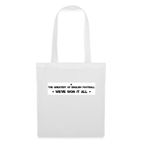 The greatest of English football - Tote Bag