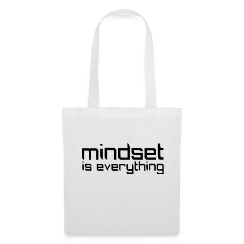 Mindset is everything - Tygväska