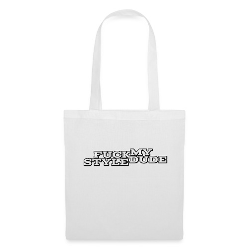 White T-Shirt - FMSD - Tote Bag