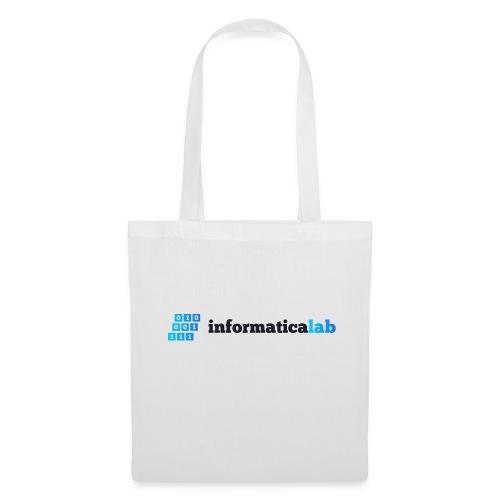 InformaticaLab logo for white background - Borsa di stoffa