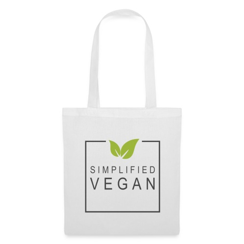 SIMPLIFIED VEGAN - Tote Bag