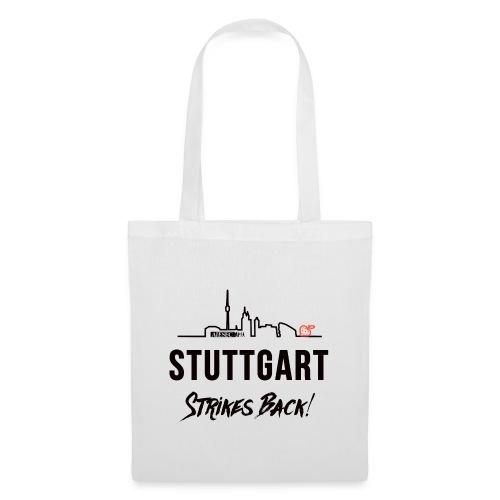Stuttgart Strikes Back Skyline - Stoffbeutel