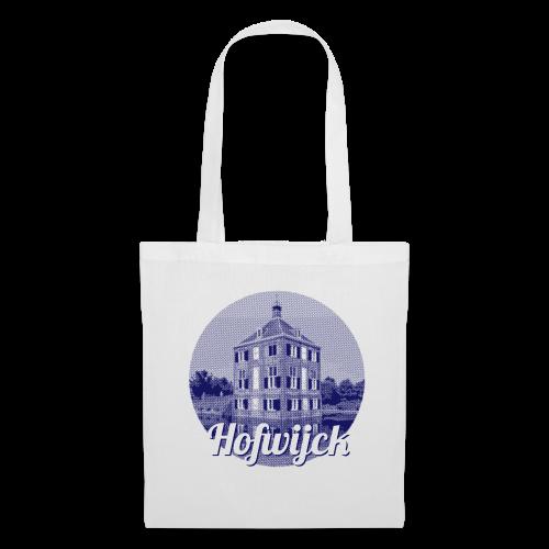 Hofwijck blauw - Tas van stof