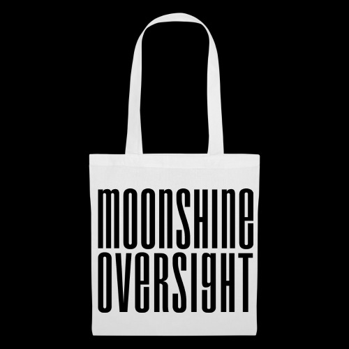 Moonshine Oversight noir - Tote Bag