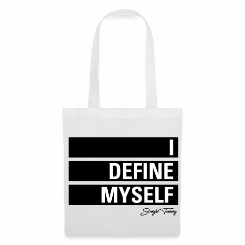 I define myself - Stoffbeutel