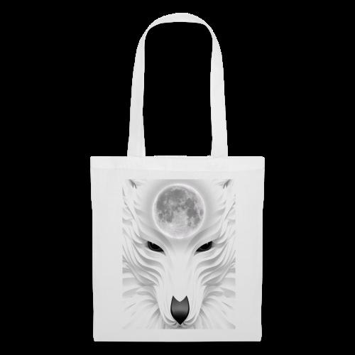 lobo - Bolsa de tela
