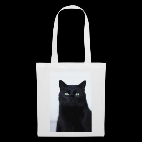 Schwarze Katze - Stoffbeutel
