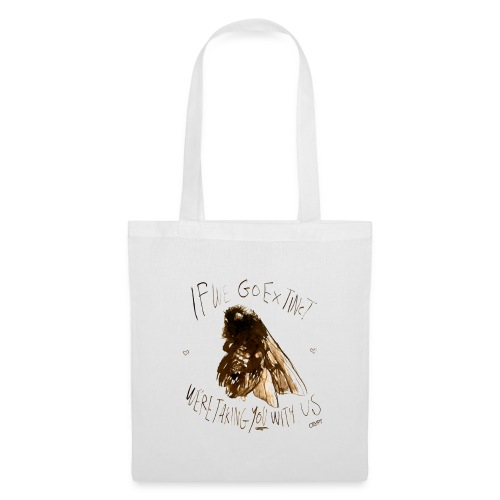 the bee - Tote Bag
