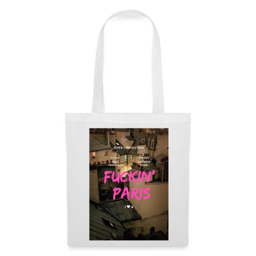 Promotional poster - Tote Bag