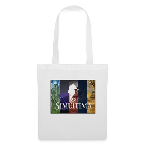 Simultima loggan med bilder väska - Tygväska