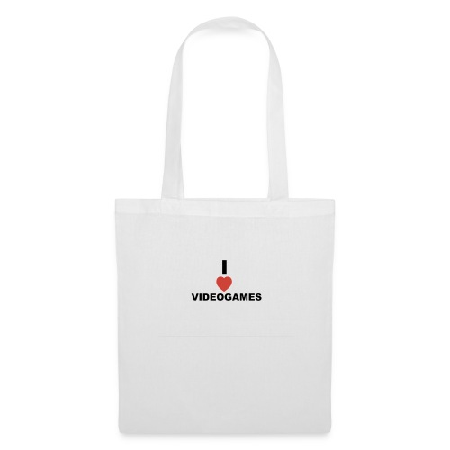 I Love Videogames - Tote Bag