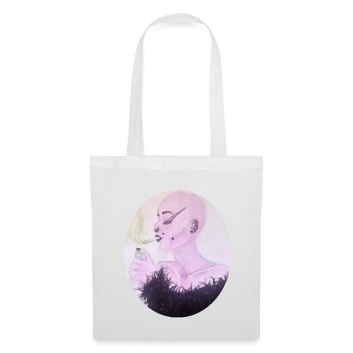 Smoking girl 2 - Tote Bag