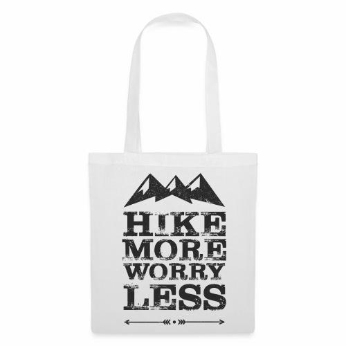 Hike more schwarz - Stoffbeutel
