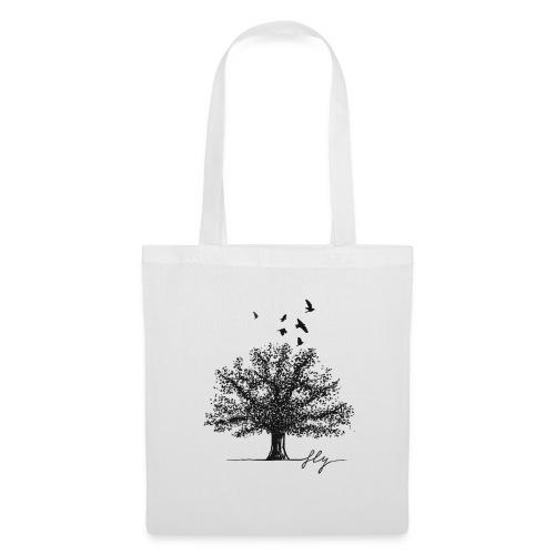 Tree Black - Tas van stof
