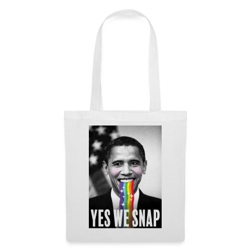 Obama snaps - Tote Bag