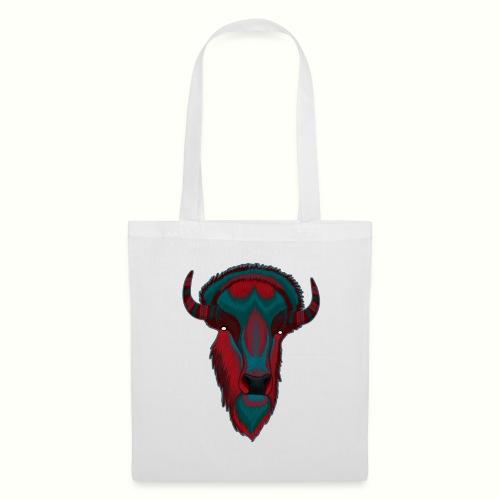 Bison - Red & BlueGray - Tygväska