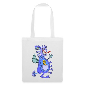 Blue Dragon - Borsa di stoffa