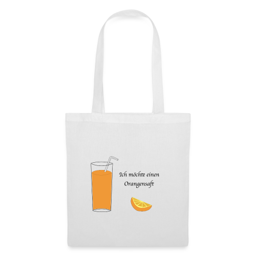 Orangensaft - Tote Bag