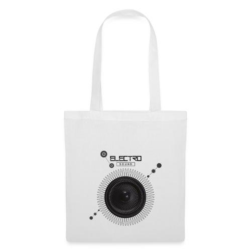 Electro Sound - Borsa di stoffa