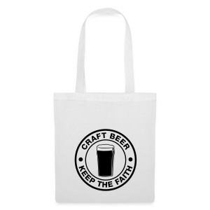 Craft beer, keep the faith! - Tote Bag