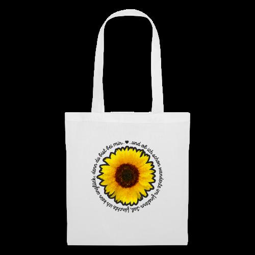 Sonnenblume - Stoffbeutel