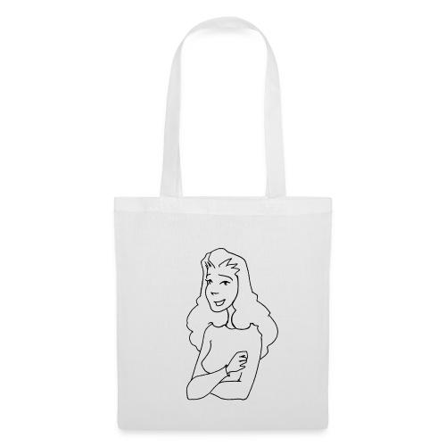 Agathe buste encre - Tote Bag