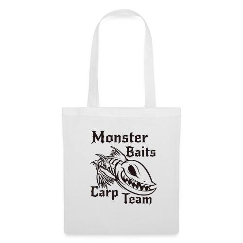 MONSTER_BAITS_WHITE - Torba materiałowa