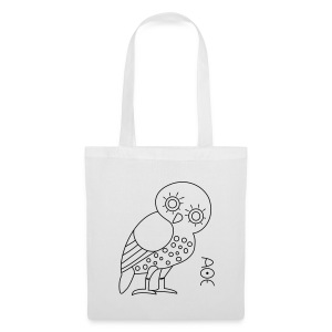 Owl of Athena - Tote Bag