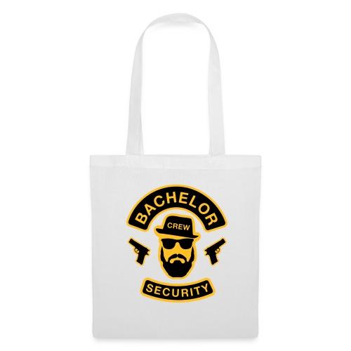 Bachelor Security - JGA T-Shirt - Bräutigam Shirt - Stoffbeutel