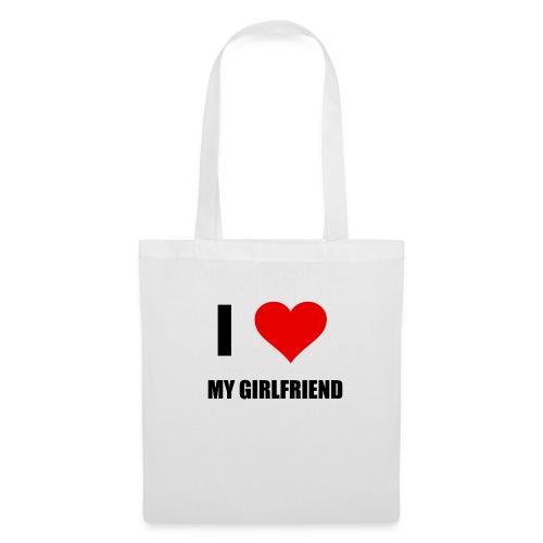 I LOVE MY GIRLDFRIEND - Stoffbeutel