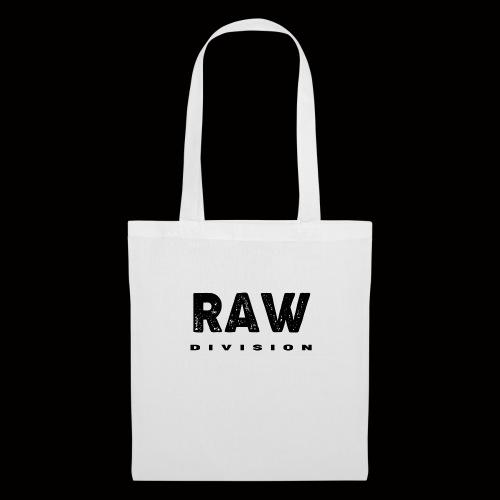 Raw DIvision BLACK LOGO - Tote Bag